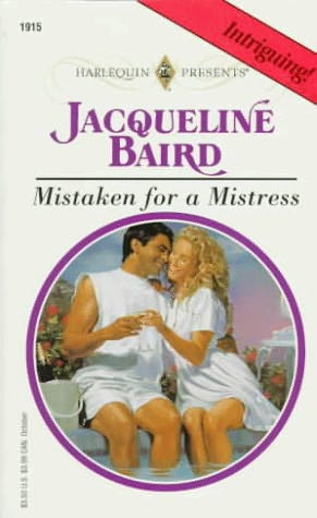 book cover of Mistaken for a Mistress