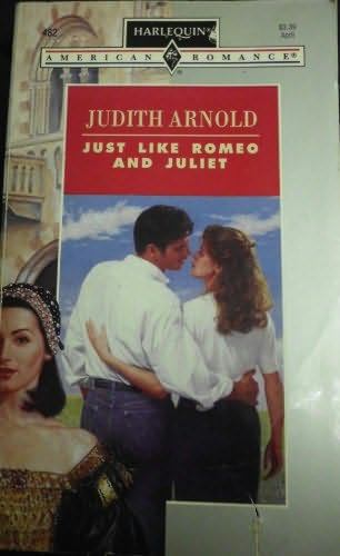 book cover of Just Like Romeo and Juliet