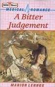 book cover of A Bitter Judgement