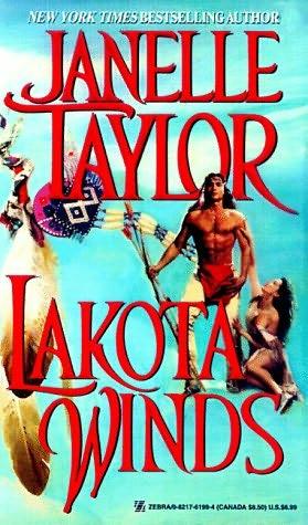 Lot 4 JANELLE TAYLOR Indian Western Romances Lakota Winds ...
