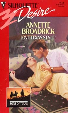 book cover of Love Texas Style!