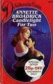 book cover of Candlelight for Two