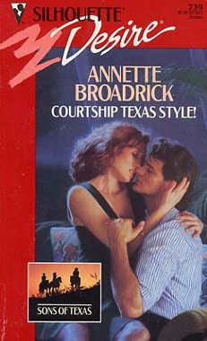 book cover of Courtship Texas Style!