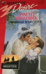 book cover of Marriage Texas Style!