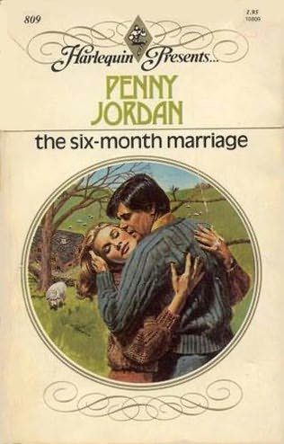 book cover of The Six-Month Marriage