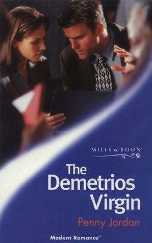 The Demetrios Virgin Greek Tycoons By Penny Jordan border=