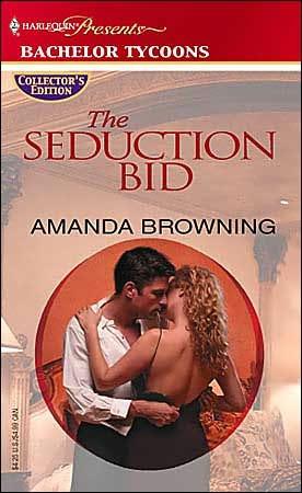 book cover of The Seduction Bid