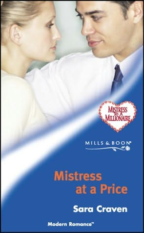 book cover of Mistress at a Price