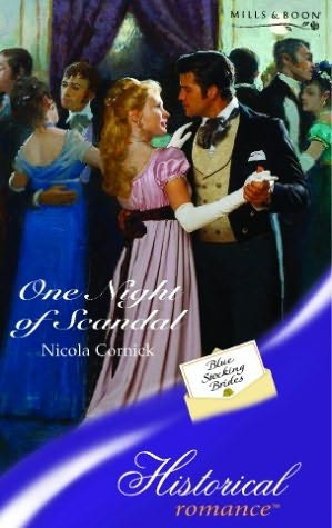 book cover of One Night of Scandal