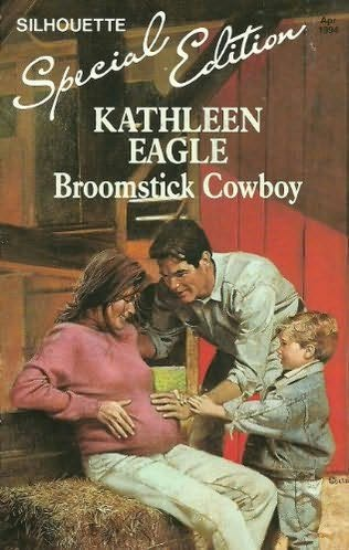 book cover of Broomstick Cowboy
