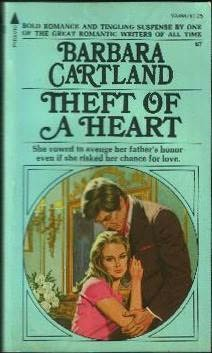book cover of Theft of a heart