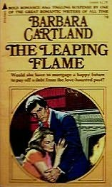 book cover of Leaping Flame