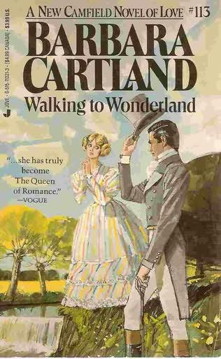 book cover of Walking to Wonderland