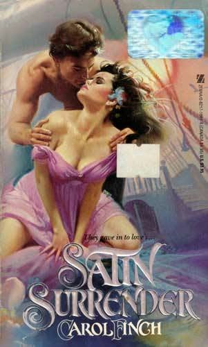 book cover of Satin Surrender