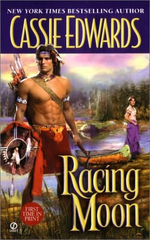 book cover of Racing Moon