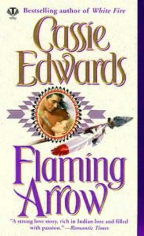 book cover of Flaming Arrow