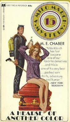 book cover of A Hearse of Another Color