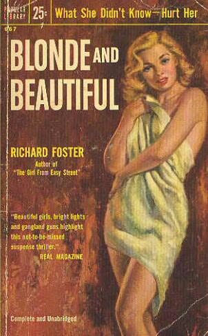 book cover of Blonde and Beautiful