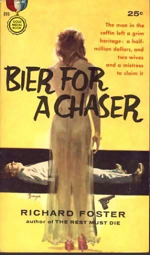 book cover of Bier for a Chaser