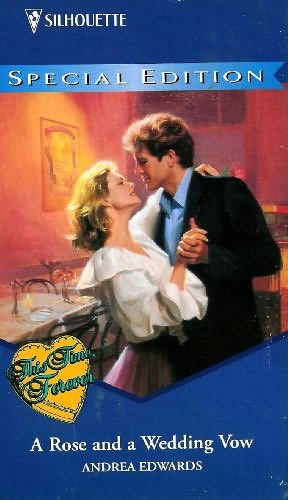 book cover of A Rose and a Wedding Vow