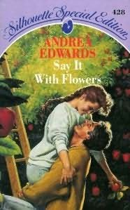 book cover of Say it with Flowers