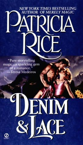 book cover of  Denim and Lace  by Patricia Rice
