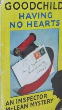 book cover of Having No Hearts
