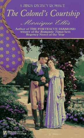 book cover of The Colonel\'s Courtship