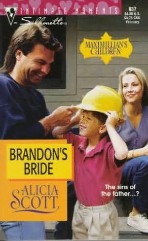 book cover of Brandon's Bride