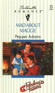 book cover of Mad About Maggie