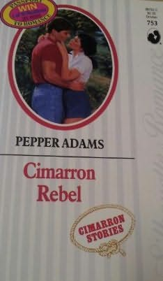 book cover of Cimarron Rebel