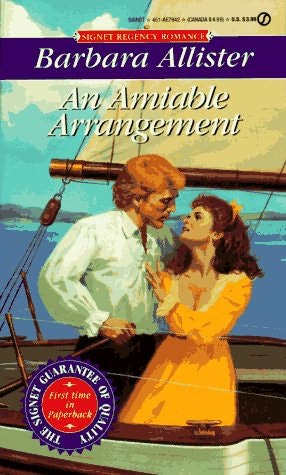 book cover of An Amiable Arrangement