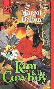 book cover of Kim and the Cowboy