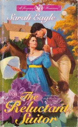 book cover of The Reluctant Suitor