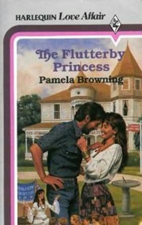 book cover of The Flutterby Princess
