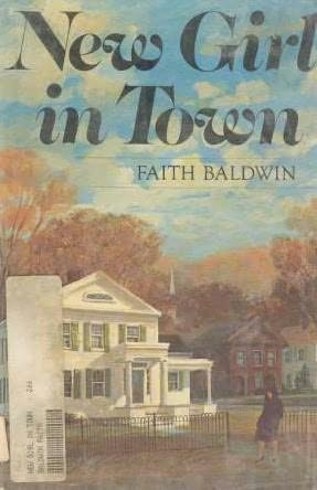 book cover of New Girl in Town