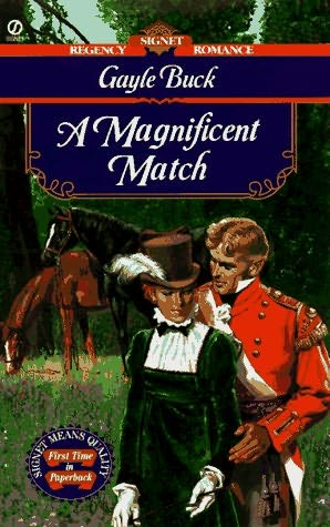 book cover of A Magnificient Match