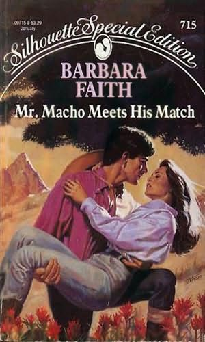 book cover of Mr. Macho Meets His Match