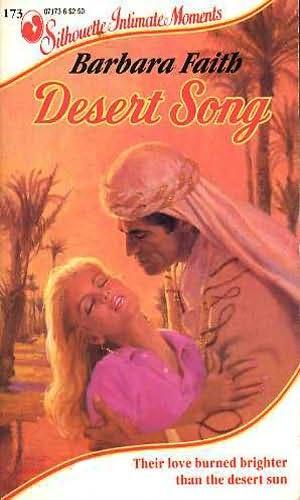 book cover of Desert Song