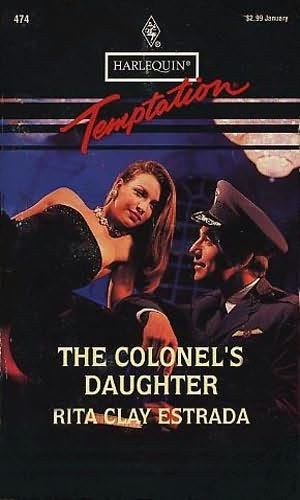 book cover of The Colonel\'s Daughter