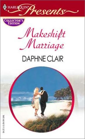 book cover of Makeshift Marriage