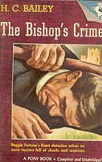 book cover of The Bishop\'s Crime