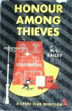 book cover of Honour Among Thieves