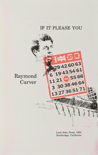 book cover of If It Please You