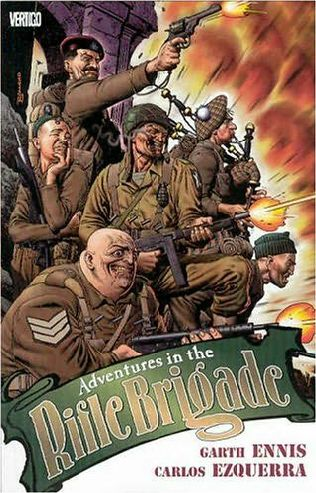 book cover of Adventures in the Rifle Brigade