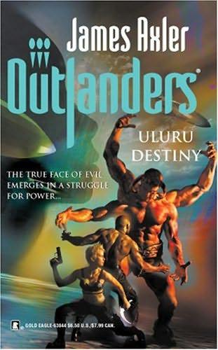 book cover of Uluru Destiny
