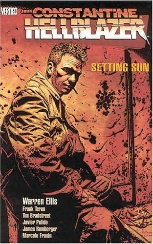 book cover of John Constantine Hellblazer: Setting Sun