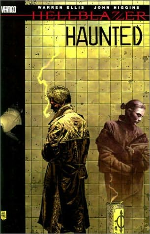 book cover of Haunted (Hellblazer)