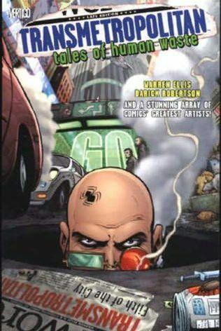 book cover of Transmetropolitan: Tales of Human Waste (Transmetropolitan S.)