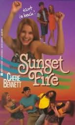 book cover of Sunset Fire